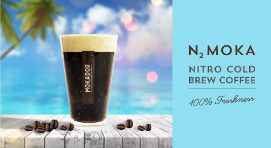 N2 Moka, the cold draught coffee